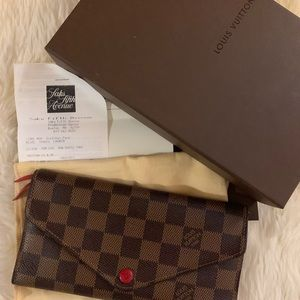 Authentic Louis Vuitton Josephine wallet